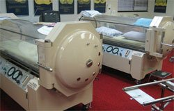 Hyperbaric chamber for migraine relief
