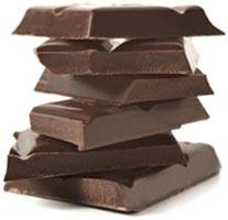 Dark Chocolate has many health benefits due to its high nutritional content of antioxidants.