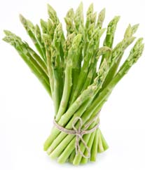 Asparagus is high in folic acid