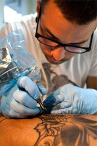 Chemicals in tattoo ink face scrutiny from the FDA
