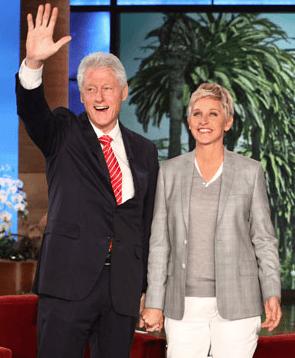 Former President Bill Clinton and Ellen Degeneres talk Vegan