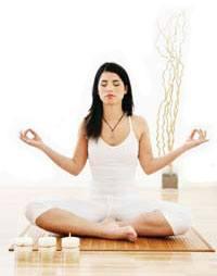 Deep breathing for meditation