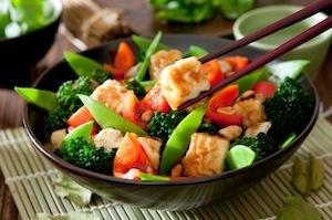 Tofu and Vegetarian Stir-Fry
