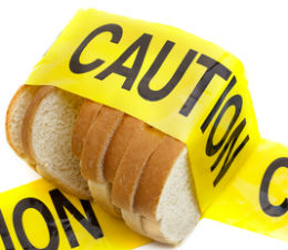 caution white bread