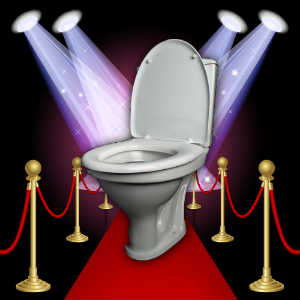 Toilet on the Red Carpet