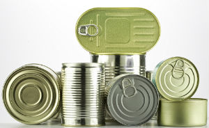 tin food cans