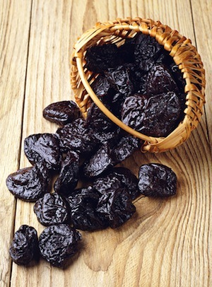 Prunes contain iodine