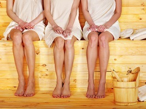 Sauna bathing can be a great experience!