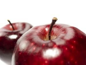 Apples are a fruit that contain quercetin