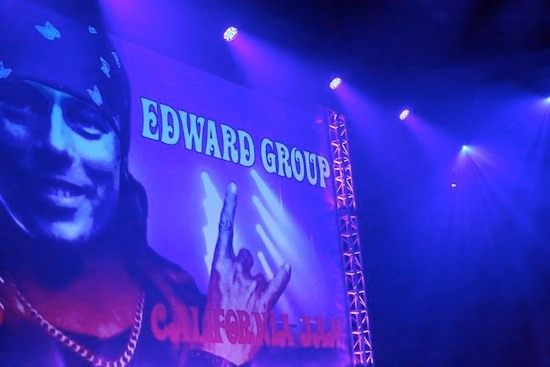 Dr. Edward Group on Stage at Cal Jam 2014