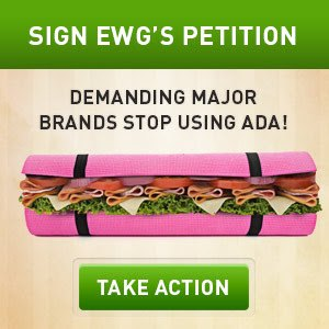 Environmental Working Group Azodicarbonamide Petition