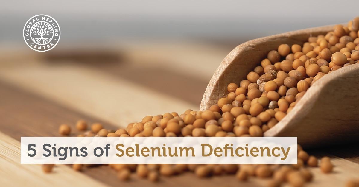 5 Signs You Re Experiencing Selenium Deficiency