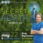 Register NOW for the Secret to Health Seminar