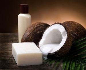 Coconut oil is a great way to make organic soap