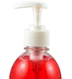 Triclosan is a toxic ingredient found in anti-bacterial soap