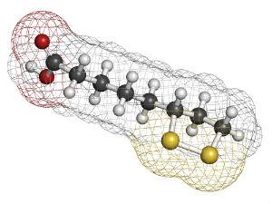 lipoic-acid-molecule