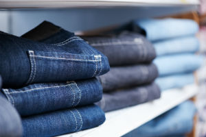 jeans-in-clothing-store