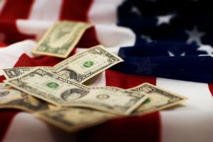 money-on-US-flag
