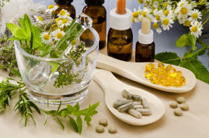 supplements-among-natural-flowers