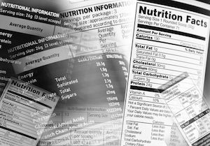 Nutrition information and dietary guidelines