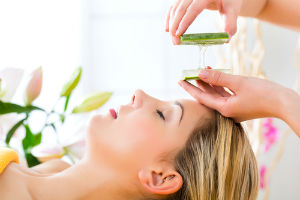 Aloe vera and skin care