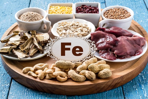 Iron is an essential mineral that your body requires to stay healthy and can be found in foods such as liver, cashews, and lentils.