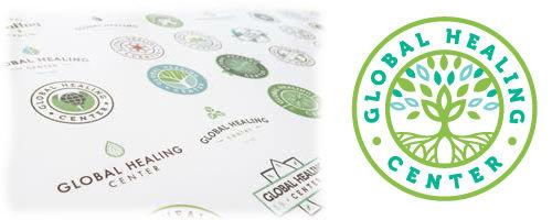 Global Healing Center Logo Ideas and Final