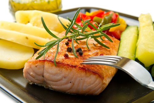 Salmon is one of the main foods high in phosphorus, an essential mineral needed to support human life.