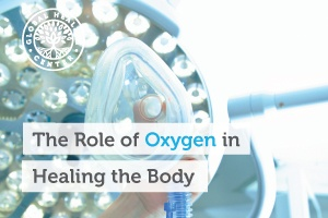 Oxygen plays an important role in keeping the body in a healthy, balanced state of wellness.