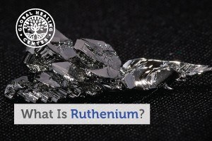 Ruthenium, Pictured here in crystalized form, is a rare earth element with many uses, including the mitigation of metal toxicity.