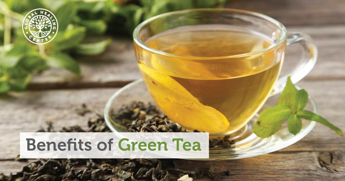 8 Health Benefits Of Green Tea
