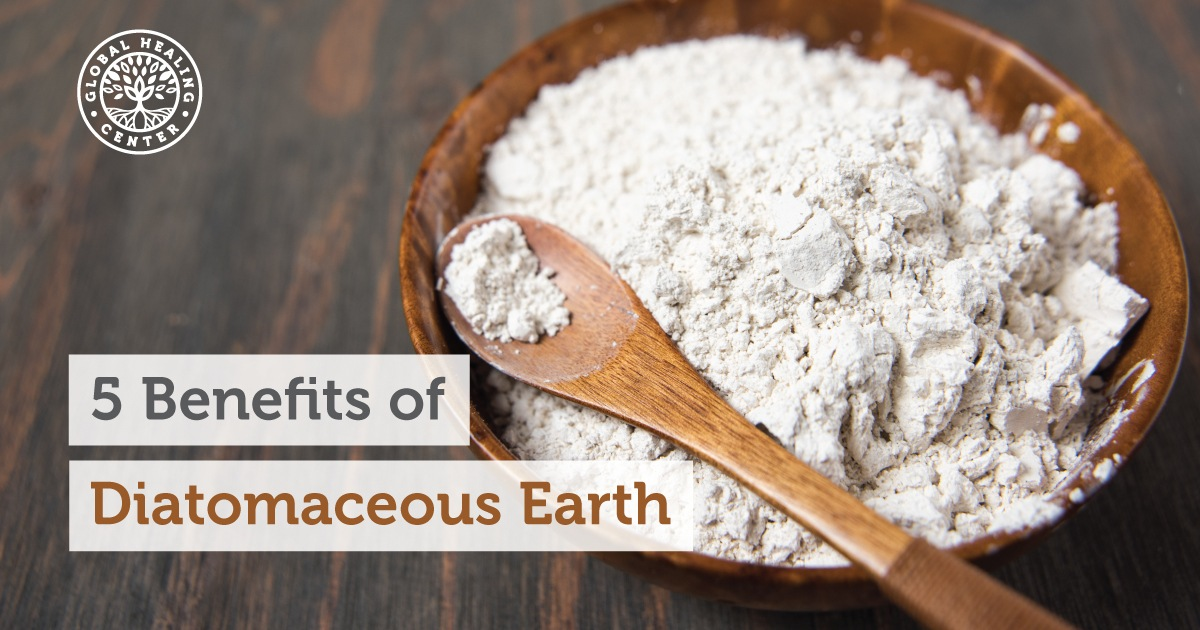5 Benefits Of Diatomaceous Earth