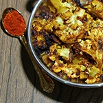 Enjoy this Chipotle-Lime Roasted Cauliflower Recipe