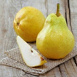 Goji Berry Recipe: Goji-Ginger Almond Pears