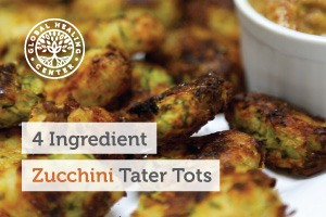 Healthy, gluten-free golden crisp zucchini tater tots. Zucchini contains minerals including zinc, sodium, and magnesium.