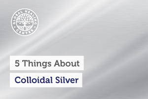 A silver layer. Studies have shown that colloidal silver outperforms many mainstream methods used against harmful organisms.