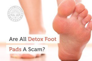 A person wearing no socks. Our Detox Foot Pads are manufactured with the highest quality ingredients and also organic.