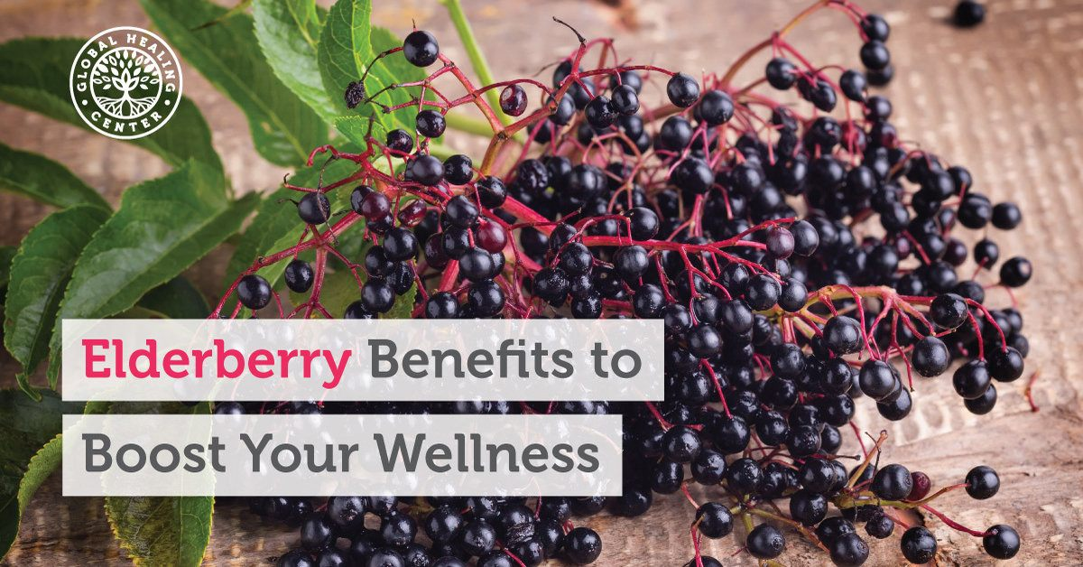 3 Elderberry Benefits To Boost Your Wellness