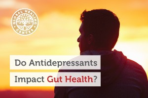 Individuals who take antidepressants suffer from gastrointestinal issues that affect their overall gut health.