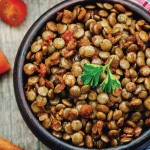 Indian-Inspired Green Lentil Salad with Spiced Carrots