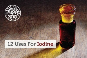 A full bottle of iodine. This supplement has health benefits such as antioxidant and It's also great for skin and hair health.