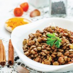 Lentil Salad Recipe with Roasted Potatoes and Asparagus