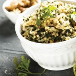 Tasty Vegan Quinoa Salad Recipe with Lemon Basil Dressing