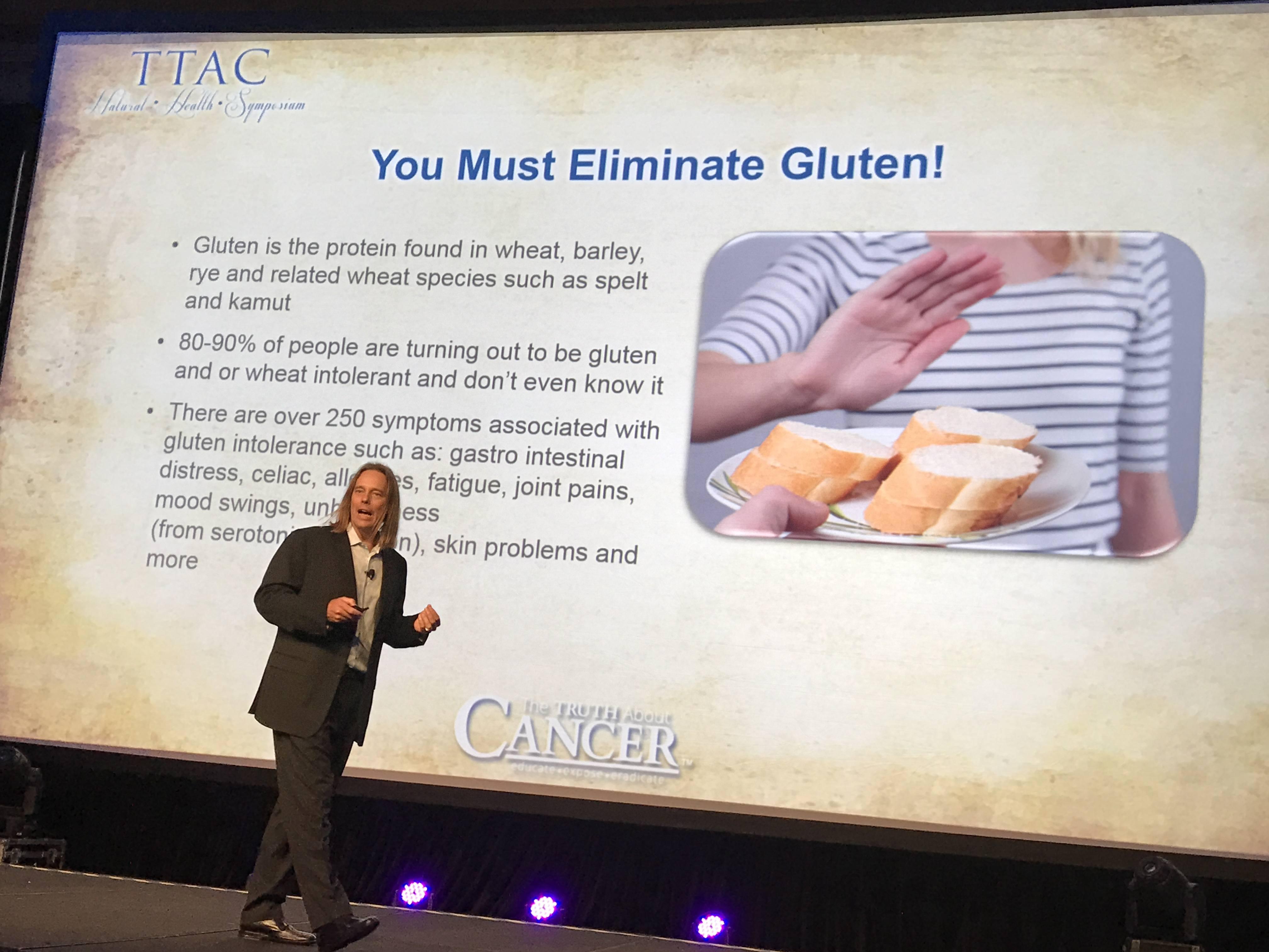 Dr. Group disusses gluten sensitivity.