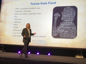 Dr. Edward Group's presentation addresses the different toxins in food at The Truth About Cancer Symposium.