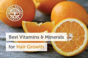 A table full of oranges. Hair loss can be a cause of anxiety, but there are vitamins and minerals that support hair growth.
