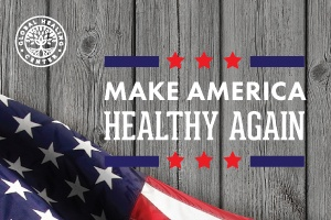 Dr. Group make America healthy again.