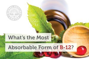 A B-12 supplement.Vitamin B-12 is essential for DNA synthesis, brain and nervous system function, and red blood cell formation.