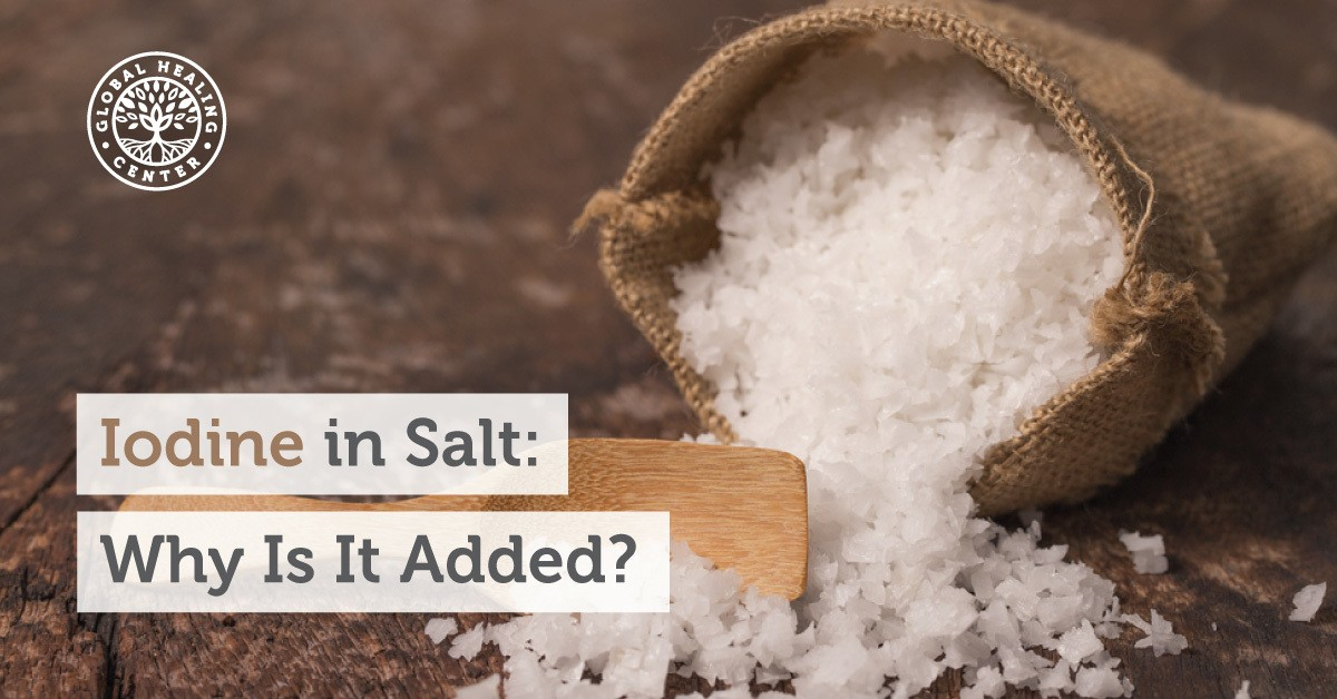Iodine In Salt Why Is It Added