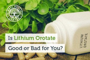 Lithium orotate is not a drug at all; it's actually a mineral-part of the sodium and potassium family.